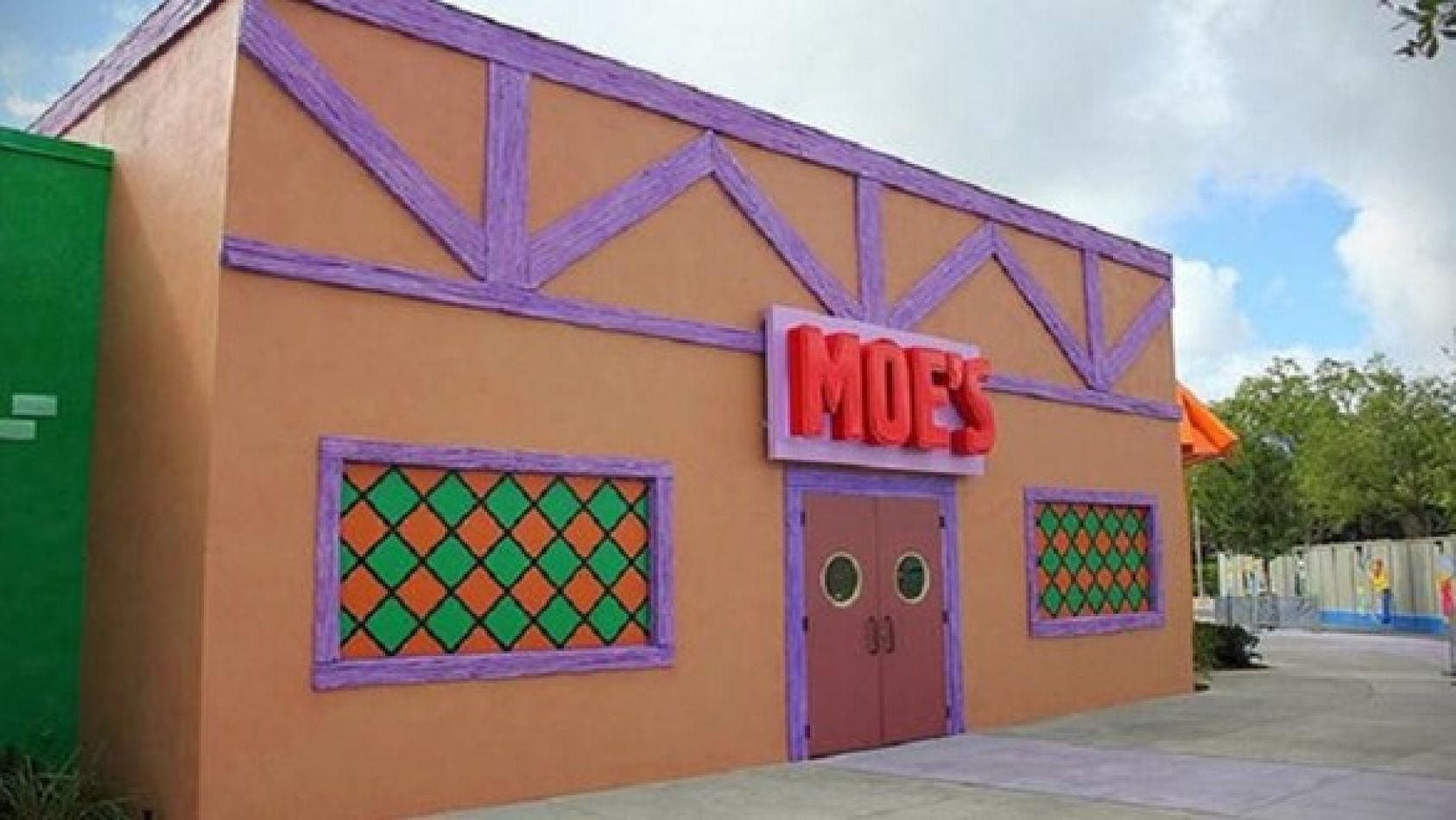 Abren en Madrid la taberna de Moe de Los Simpson pero en su versión real