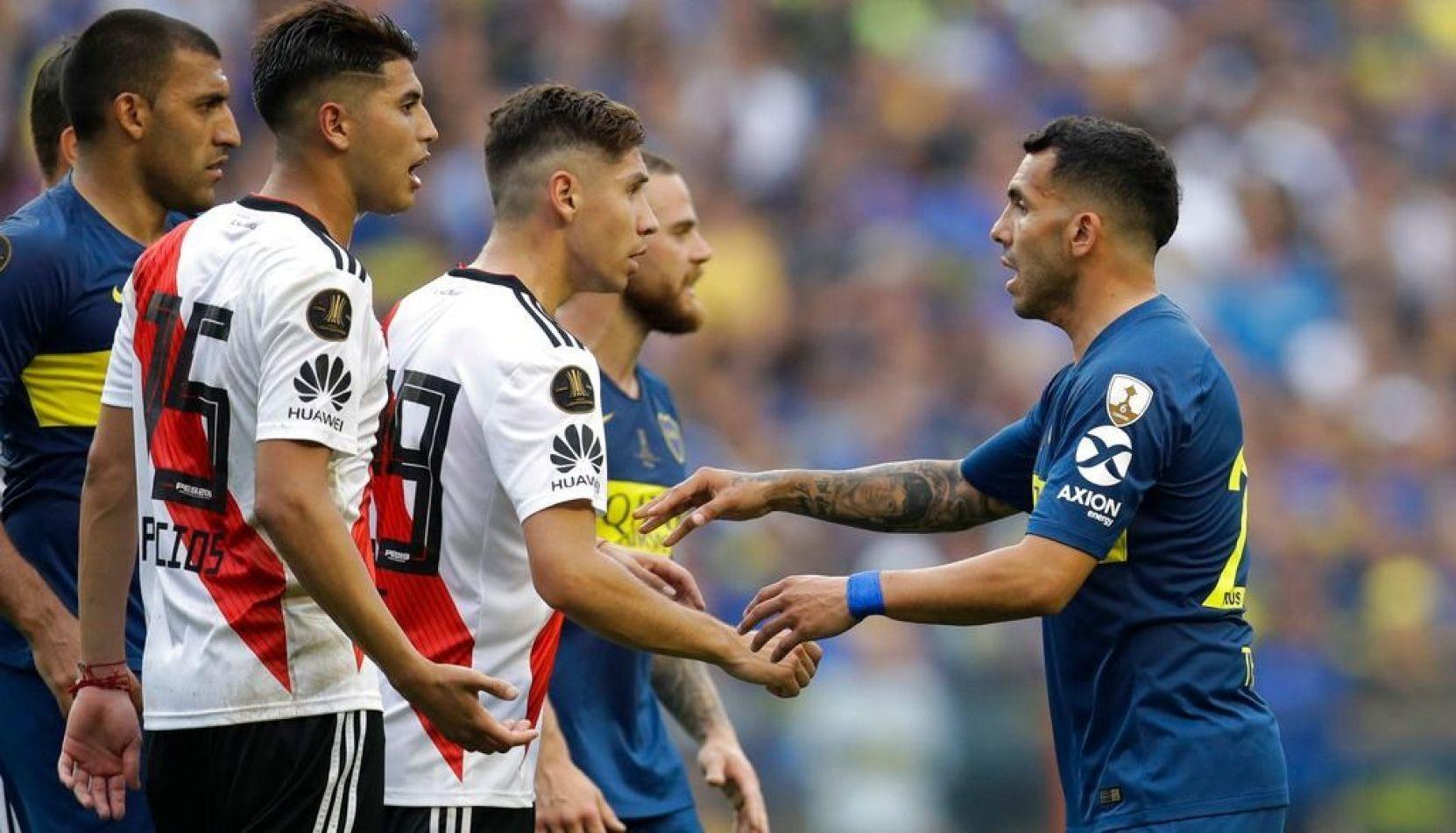 Partido vibrante: Boca y River empataron 2 a 2 en la primera superfinal