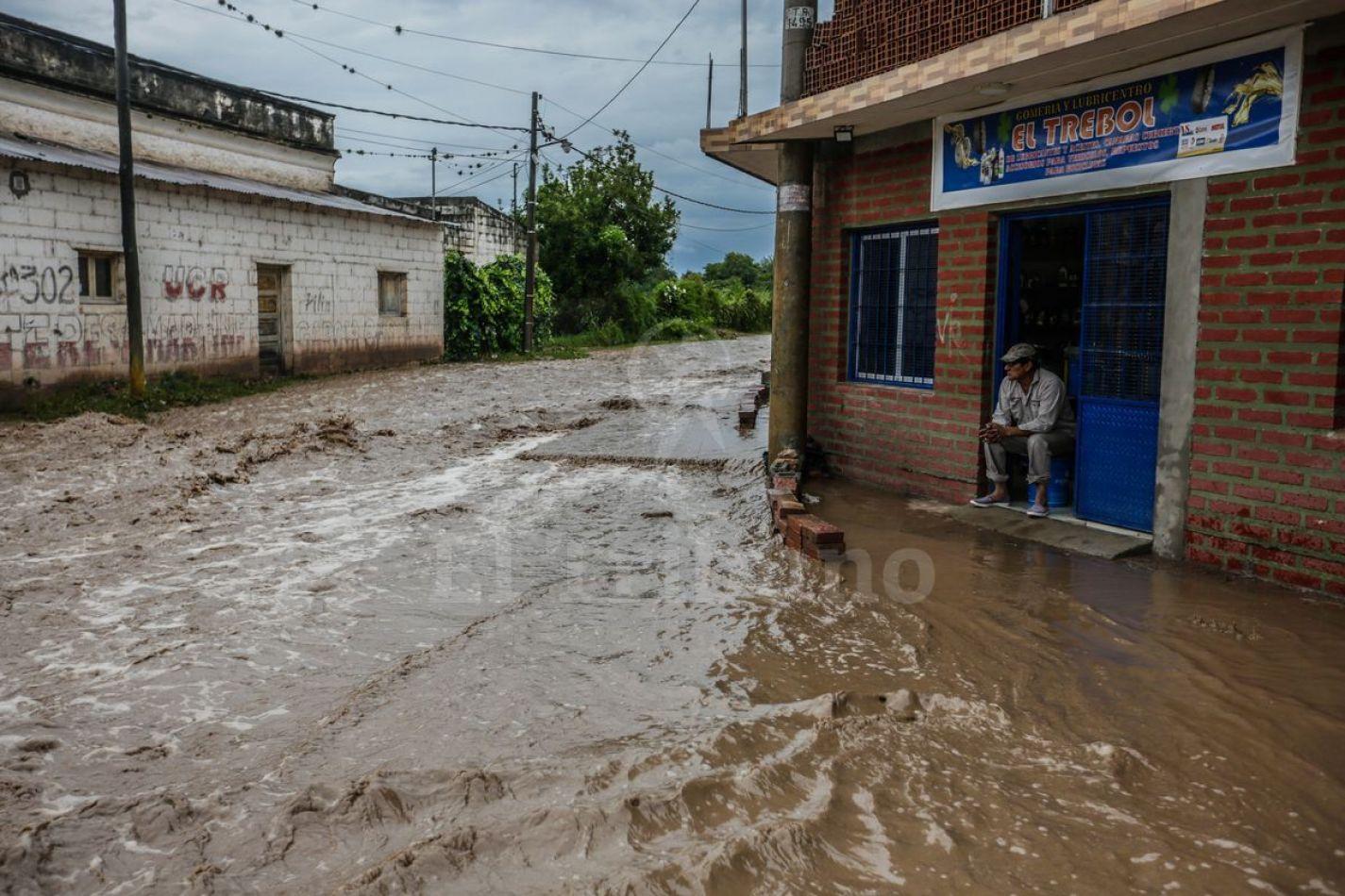 Cerrillos, La Merced y Rosario de Lerma quedaron bajo el agua