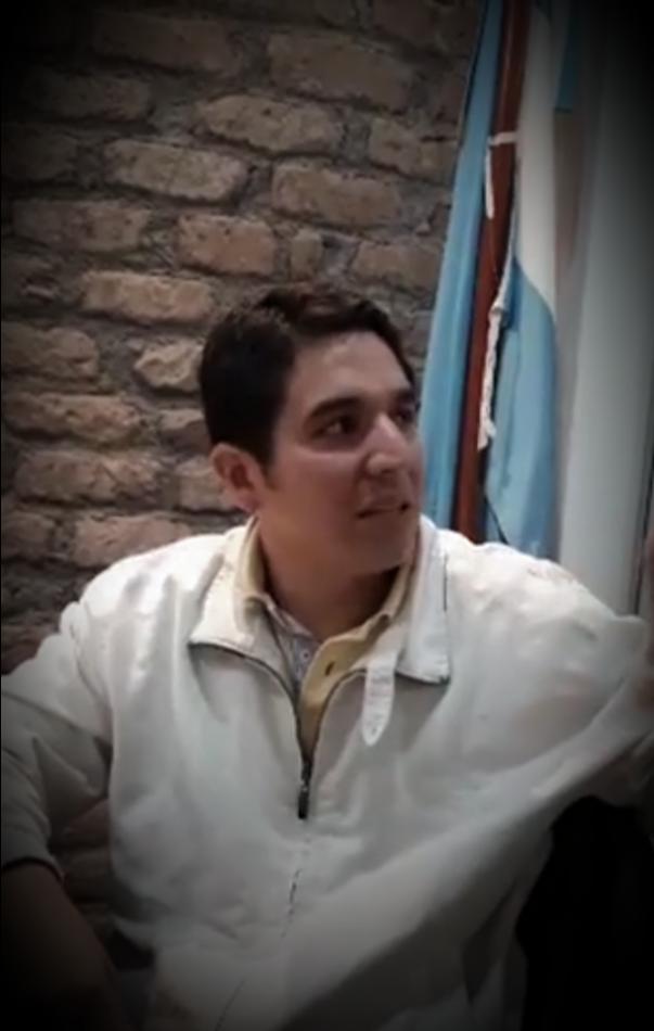 Vicepresidente del Concejo de Campo Quijano Profesor López