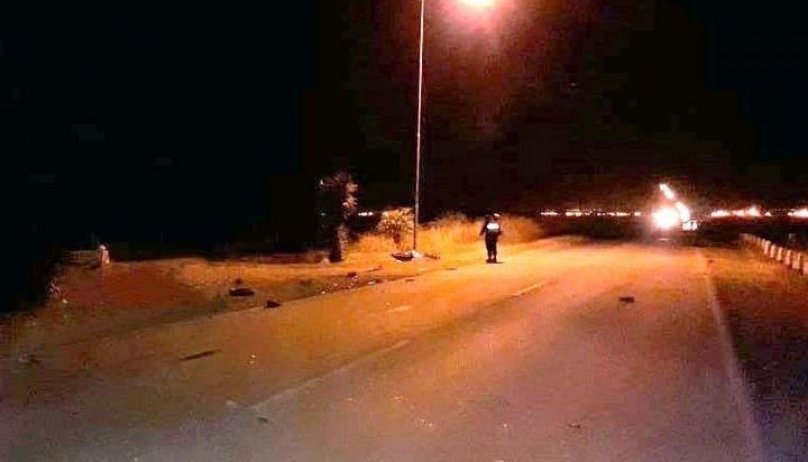 Quijano: un motociclista perdió la vida en la ruta 36