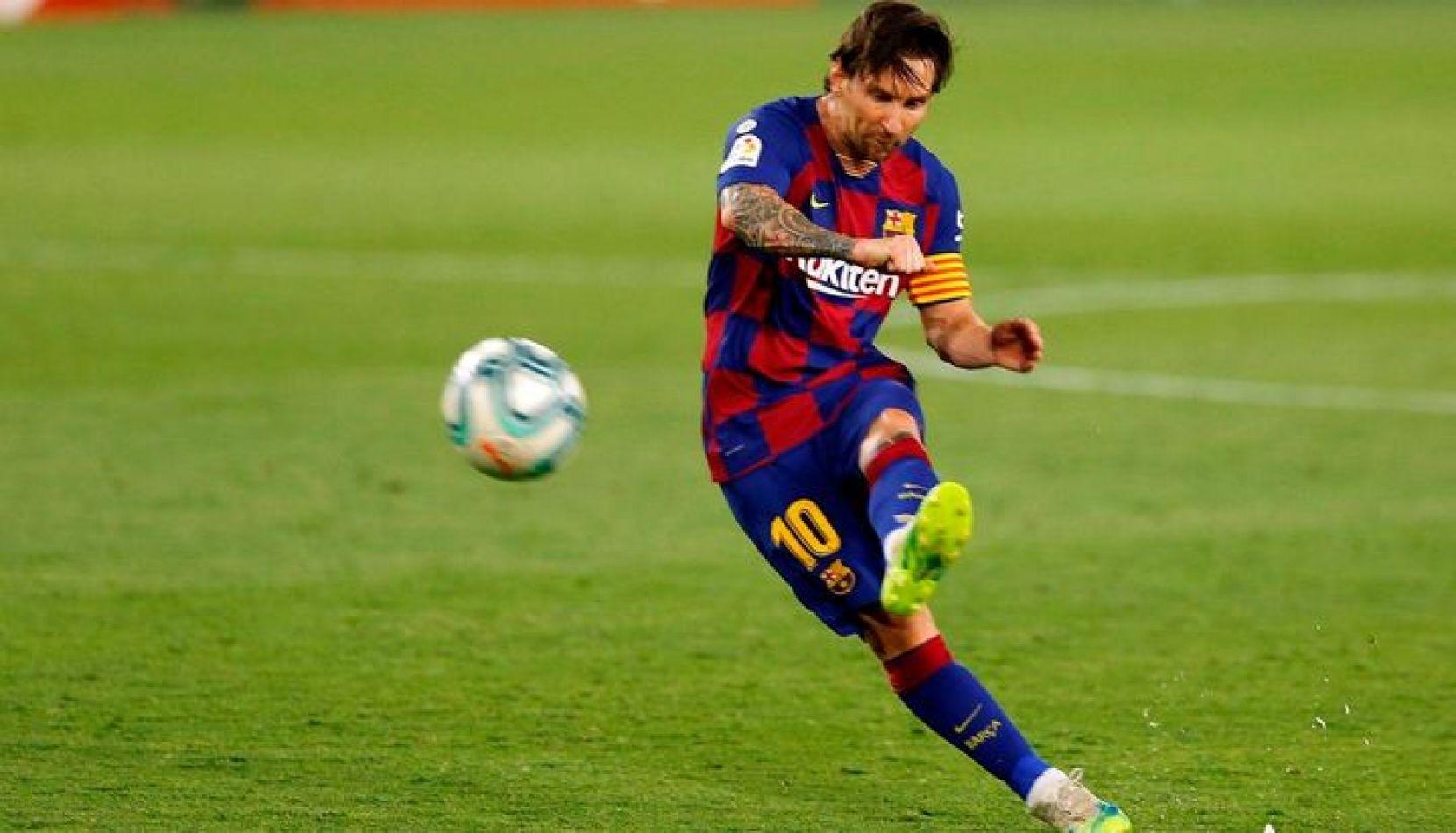 Messi llegó a los 700 goles, pero el Barcelona no pudo quebrar al Atlético del Cholo Simeone