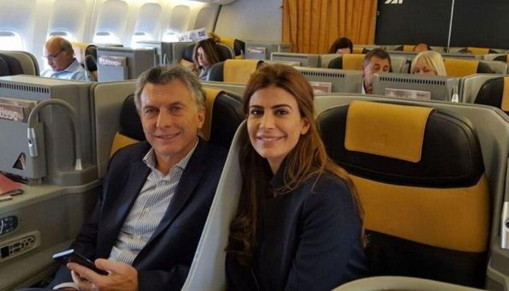 """Macri, tras arribar a Francia: """"Acá se vive en libertad y con responsabilidad"""""""
