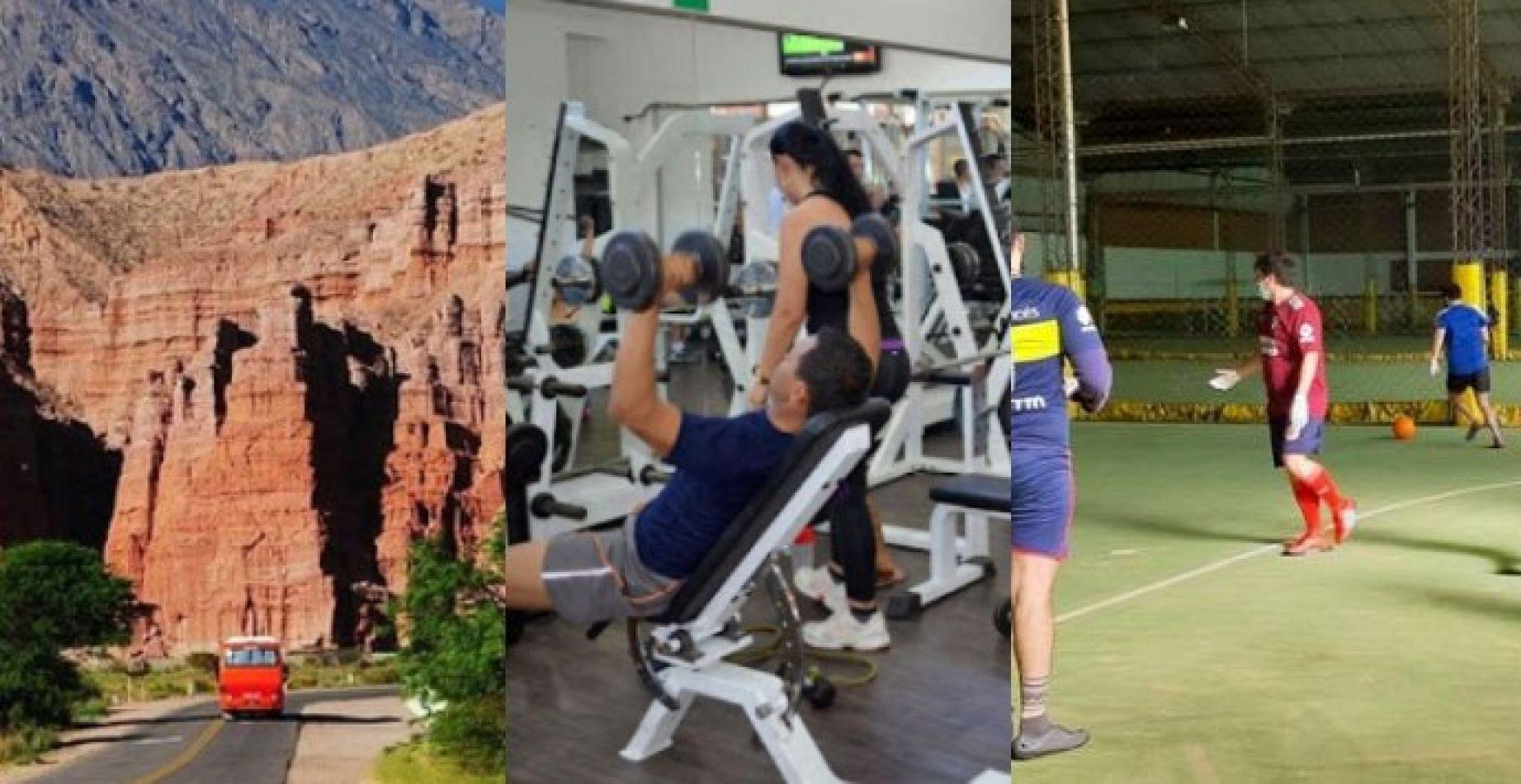 Turismo, gimnasios y deportes: enterate cómo funcionarán con las nuevas medidas