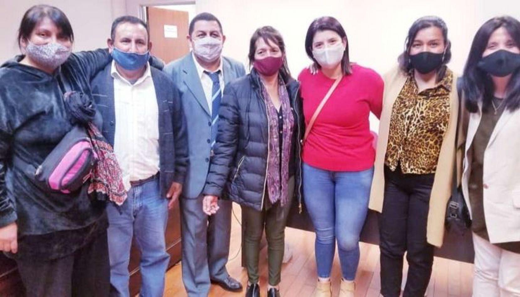 Absolvieron a Lucía Ruiz y a los otros tres campesinos