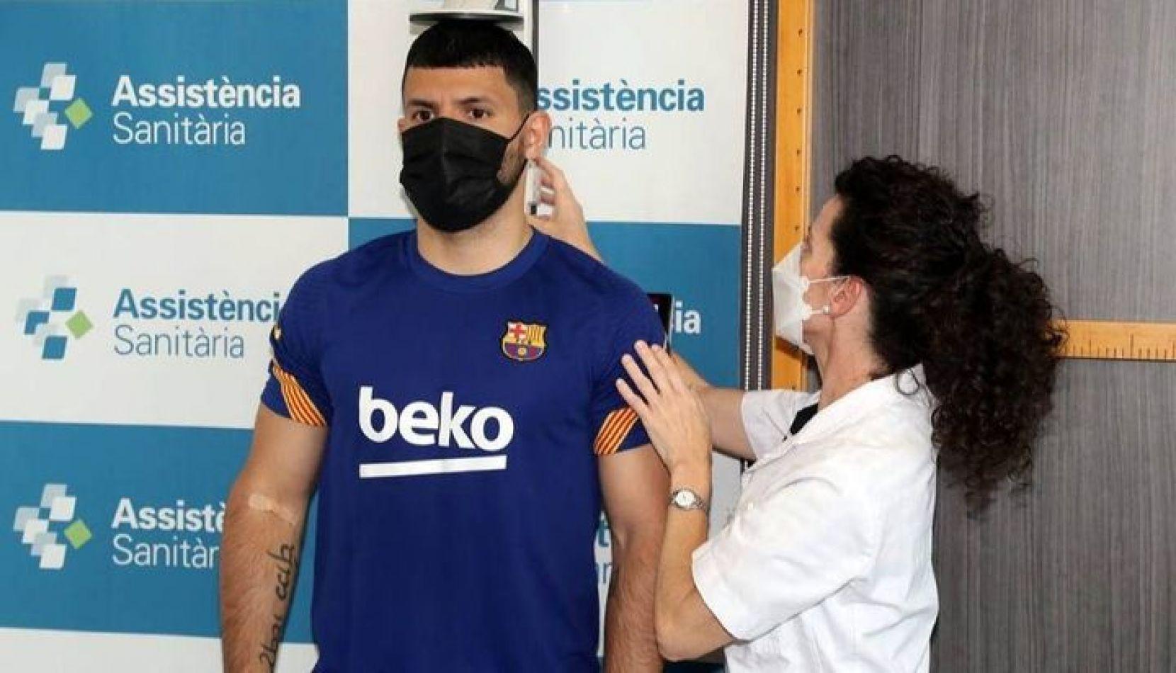 """El """"Kun"""" Agüero ya es nuevo jugador del Barcelona"""